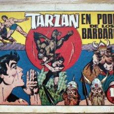 Tebeos: TARZAN. EN PODER DE LOS BARBAROS - ORIGINAL. Lote 204680546