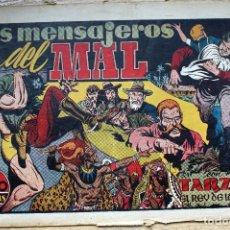Tebeos: TARZAN. LOS MENSAJEROS DEL MAL - ORIGINAL. Lote 204681602