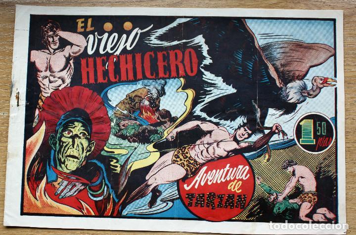 TARZAN. EL VIEJO HECHICERO - ORIGINAL (Tebeos y Comics - Hispano Americana - Tarzán)