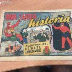 Tebeos: EL HOMBRE ENMASCARADO Nº 97 UNA LARGA HISTORIA (ORIGINAL HISPANO AMERICANA) (AB-2). Lote 204823667