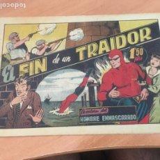 Tebeos: EL HOMBRE ENMASCARADO Nº 40 EL FIN DE UN TRAIDOR (ORIGINAL HISPANO AMERICANA) (AB-2. Lote 204828537