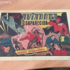 Tebeos: EL HOMBRE ENMASCARADO Nº 41 LA AVIADORA DESAPARECIDA (ORIGINAL HISPANO AMERICANA) (AB-2. Lote 204828697