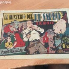 Tebeos: EL HOMBRE ENMASCARADO Nº 42 EL MISTERIO DLE TEMPLO INDIO (ORIGINAL HISPANO AMERICANA) (AB-2. Lote 204829068