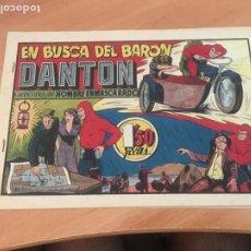 Tebeos: EL HOMBRE ENMASCARADO Nº 34 EN BUSCA DEL BARON DANTON (ORIGINAL HISPANO AMERICANA) (AB-2. Lote 204838267