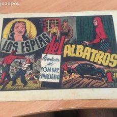 Tebeos: EL HOMBRE ENMASCARADO Nº LOS ESPIAS DEL ALBATROS (ORIGINAL HISPANO AMERICANA) SANS BARCELONA (AB-2. Lote 204840463