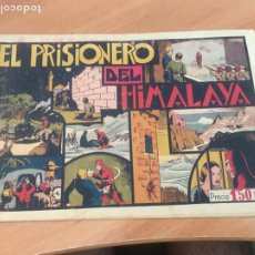 Tebeos: EL HOMBRE ENMASCARADO Nº 13 EL PRISIONERO DEL HIMALAYA (ORIGINAL HISPANO AMERICANA) CON CROMOS (AB-2. Lote 205063223
