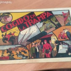 Tebeos: EL HOMBRE ENMASCARADO Nº 18 COGIDO EN LA TRAMPA (ORIGINAL HISPANO AMERICANA) CROMOS (AB-2). Lote 205063883