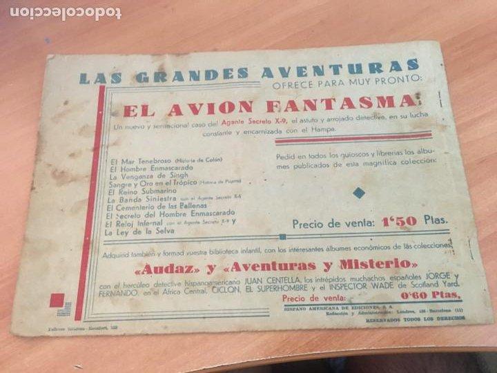 Tebeos: EL HOMBRE ENMASCARADO Nº 7 LAS MUJERES PIRATAS (ORIGINAL HISPANO AMERICANA) (AB-2) - Foto 2 - 205064171