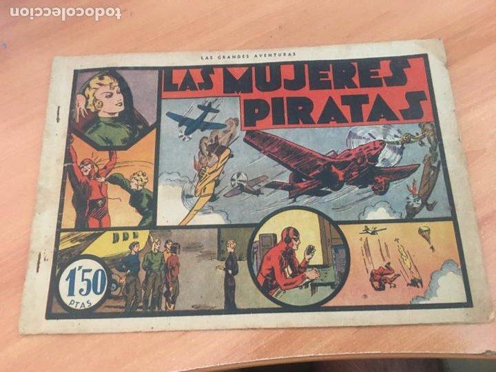 EL HOMBRE ENMASCARADO Nº 7 LAS MUJERES PIRATAS (ORIGINAL HISPANO AMERICANA) (AB-2) (Tebeos y Comics - Hispano Americana - Hombre Enmascarado)
