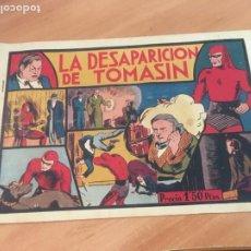 Tebeos: EL HOMBRE ENMASCARADO Nº 7 LA DESAPARICION DE TOMASIN (ORIGINAL HISPANO AMERICANA) CON CROMOS (AB-2). Lote 205064890