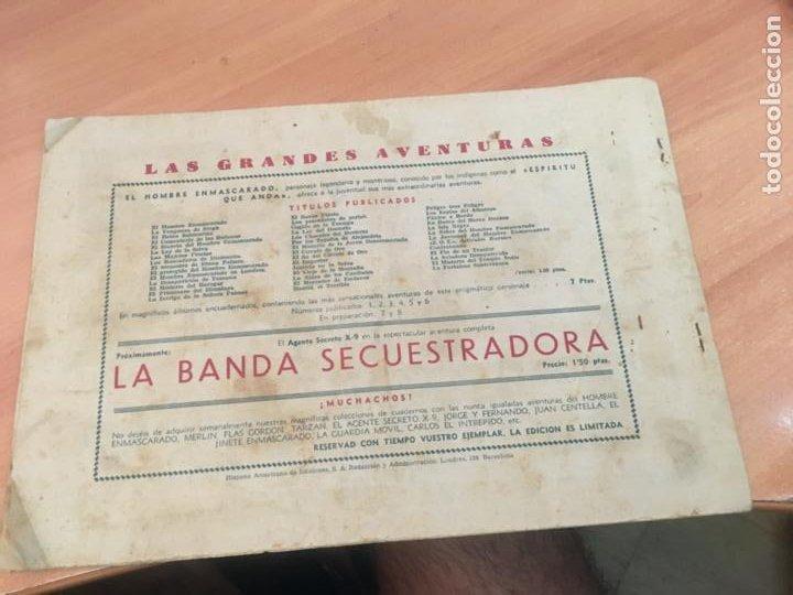 Tebeos: EL HOMBRE ENMASCARADO Nº 44 LUCHA A MUERTE (ORIGINAL HISPANO AMERICANA) (AB-2) - Foto 2 - 205065890