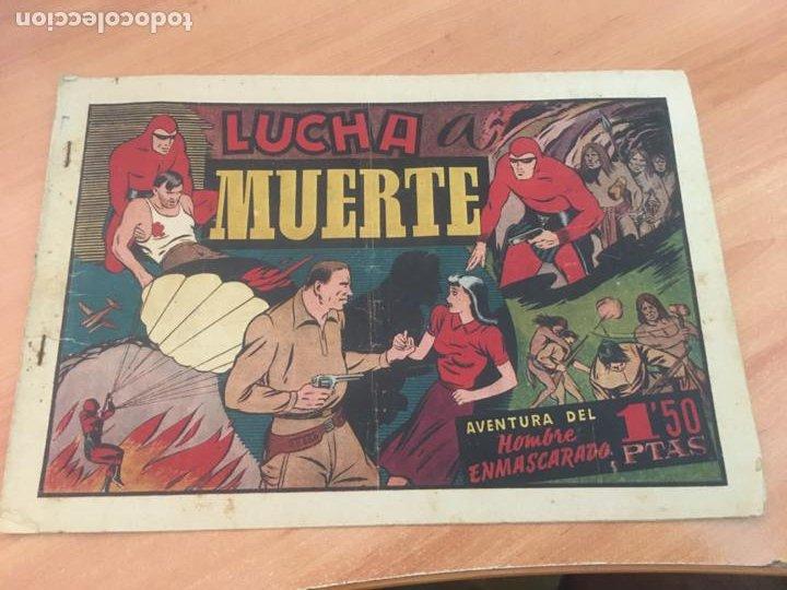 EL HOMBRE ENMASCARADO Nº 44 LUCHA A MUERTE (ORIGINAL HISPANO AMERICANA) (AB-2) (Tebeos y Comics - Hispano Americana - Hombre Enmascarado)