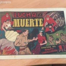 Tebeos: EL HOMBRE ENMASCARADO Nº 44 LUCHA A MUERTE (ORIGINAL HISPANO AMERICANA) (AB-2). Lote 205065890