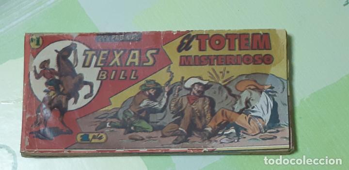 TEBEOS-COMICS CANDY - TEX WILLER - TEXAS BILL - COMPLETA - HISPANOAMERICANA 1949 - UNICA - UU99 (Tebeos y Comics - Hispano Americana - Otros)