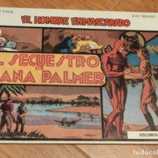 Tebeos: COMIC EL HOMBRE ENMASCARADO 1981 DE RAY MOORE, LEE FALK, VOLUMEN IV, EL SECUESTRO DE DIANA PALMER. Lote 205265633