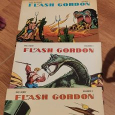 Tebeos: COMIC 1978 FLASH GORDON, VOLUMEN 1, 2 Y 3, DE ALEX RAYMOND Y MAC RABOY. Lote 205268965