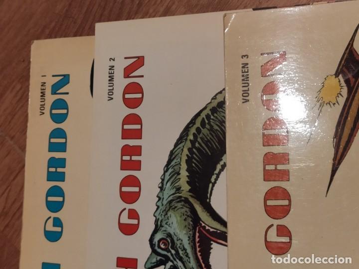 Tebeos: COMIC 1978 FLASH GORDON, VOLUMEN 1, 2 y 3, de ALEX RAYMOND Y MAC RABOY - Foto 2 - 205268965
