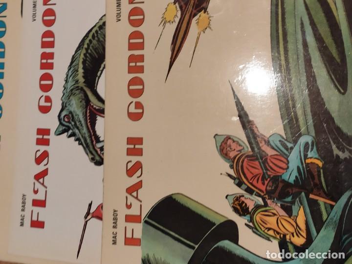 Tebeos: COMIC 1978 FLASH GORDON, VOLUMEN 1, 2 y 3, de ALEX RAYMOND Y MAC RABOY - Foto 3 - 205268965