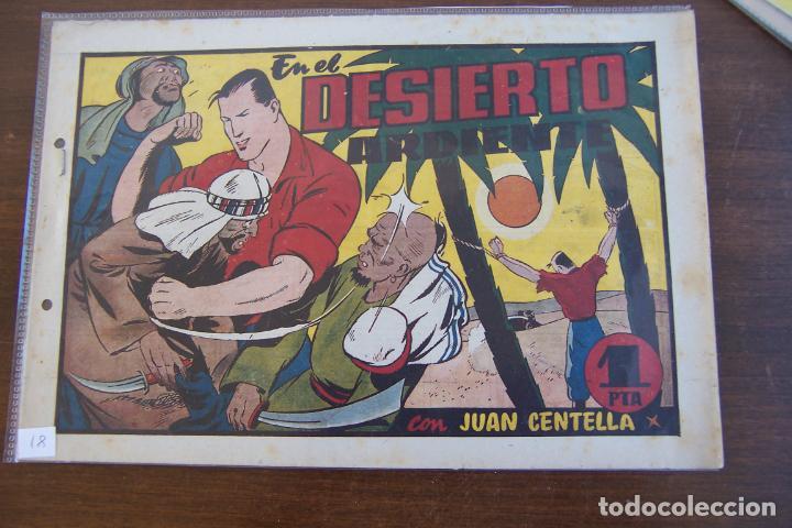 HISPANO AMERICANA,- JUAN CENTELLA Nº 81 (Tebeos y Comics - Hispano Americana - Juan Centella)