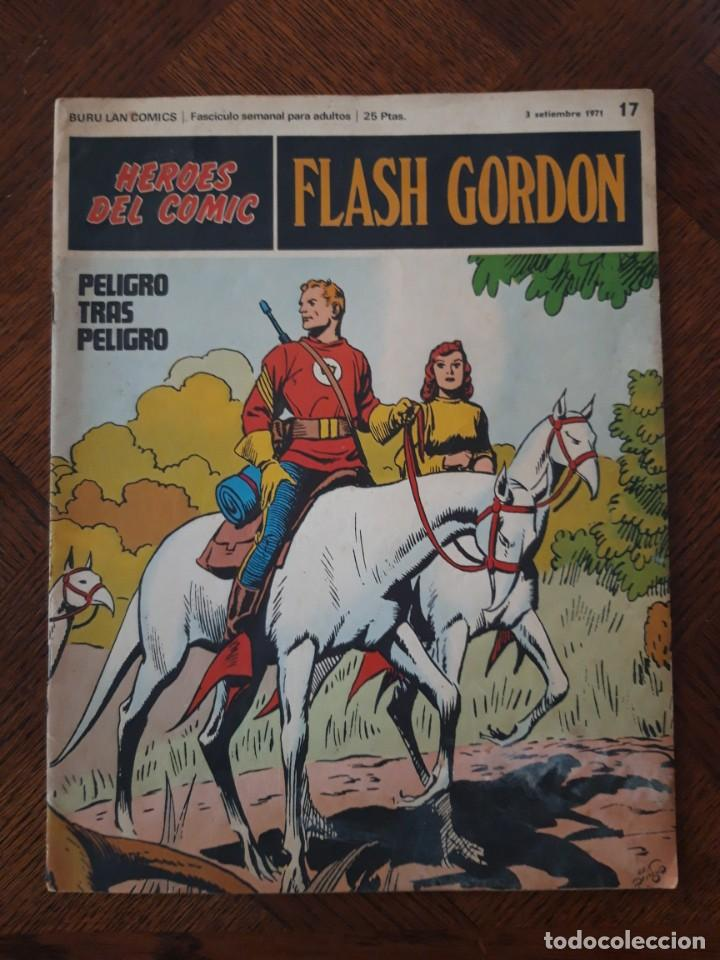 FLAS GORDON PELIGRO TRAS PELIGRO 1971 Nº17 (Tebeos y Comics - Hispano Americana - Flash Gordon)