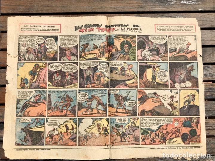 Tebeos: TIM TYLER Nº 110 (DE 113). HISPANO AMERICANA DE EDICIONES, NOVIEMBRE DE 1938. VER FOTOS. - Foto 4 - 185696102