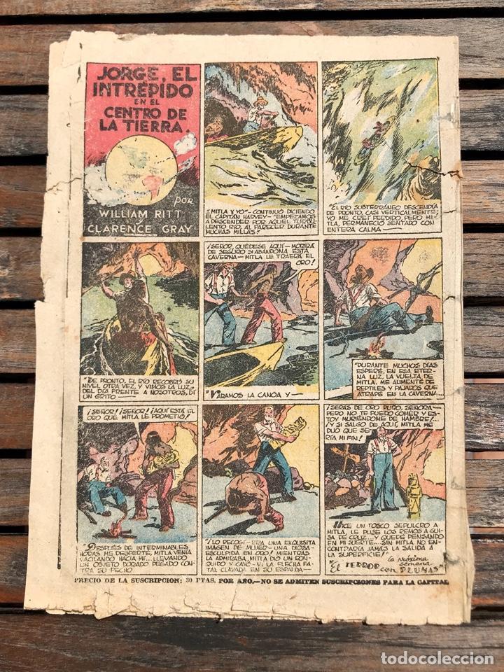 Tebeos: TIM TYLER Nº 110 (DE 113). HISPANO AMERICANA DE EDICIONES, NOVIEMBRE DE 1938. VER FOTOS. - Foto 7 - 185696102