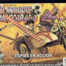 Tebeos: EL HOMBRE ENMASCARADO N,46 EN ESPIAS EN ACCION EDICION HISTORICA EDICIONES B.S.A.. Lote 205781646