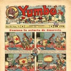 Tebeos: YUMBO-91 (HISPANO AMERICANA, 1936). Lote 206202446