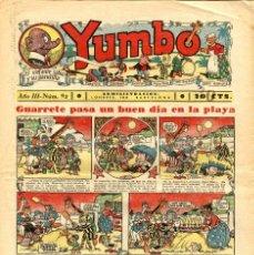 Tebeos: YUMBO-92 (HISPANO AMERICANA, 1936). Lote 206202545