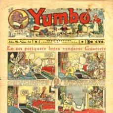 Tebeos: YUMBO-94 (HISPANO AMERICANA, 1936). Lote 206202757