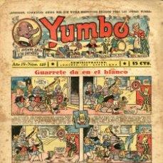 Tebeos: YUMBO-125 (HISPANO AMERICANA, 1937). Lote 206202978