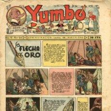 Tebeos: YUMBO-134 (HISPANO AMERICANA, 1937). Lote 206203218