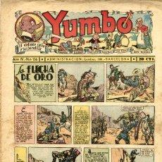 Tebeos: YUMBO-136 (HISPANO AMERICANA, 1937). Lote 206203523