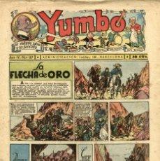Tebeos: YUMBO-137 (HISPANO AMERICANA, 1937). Lote 206203983