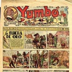 Tebeos: YUMBO-138 (HISPANO AMERICANA, 1937). Lote 206204216