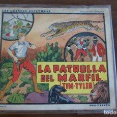 Tebeos: HISPANO AMERICANA, GRANDES AVENTURAS 1936 Nº 1 LA PATRULLA DEL MARFIL TIM TYLER. Lote 206325107