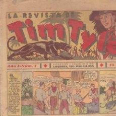 Tebeos: LOTE DE 90 COMICS TIM TYLER EDITORIAL HISPANO AMERICANA VER RELACION. Lote 206342265