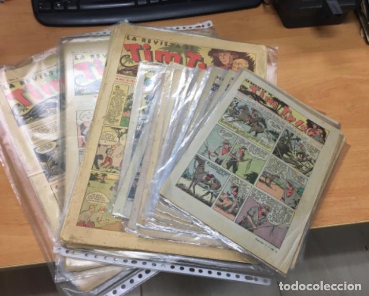 Tebeos: LOTE DE 90 COMICS TIM TYLER EDITORIAL HISPANO AMERICANA VER RELACION - Foto 2 - 206342265