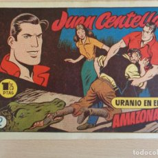 Tebeos: JUAN CENTELLA Nº 2. URANIO EN EL AMAZONAS. ORIGINAL. EDITA HISPANO AMERICANA. 1,25 PTAS. BUEN ESTADO. Lote 207009236
