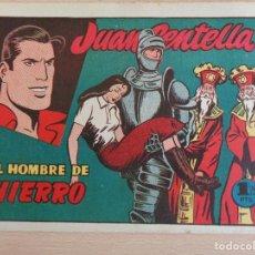 Tebeos: JUAN CENTELLA Nº 9. EL HOMBRE DE HIERRO. ORIGINAL. EDITA HISPANO AMERICANA. 1,25 PTAS. BUEN ESTADO. Lote 207009873