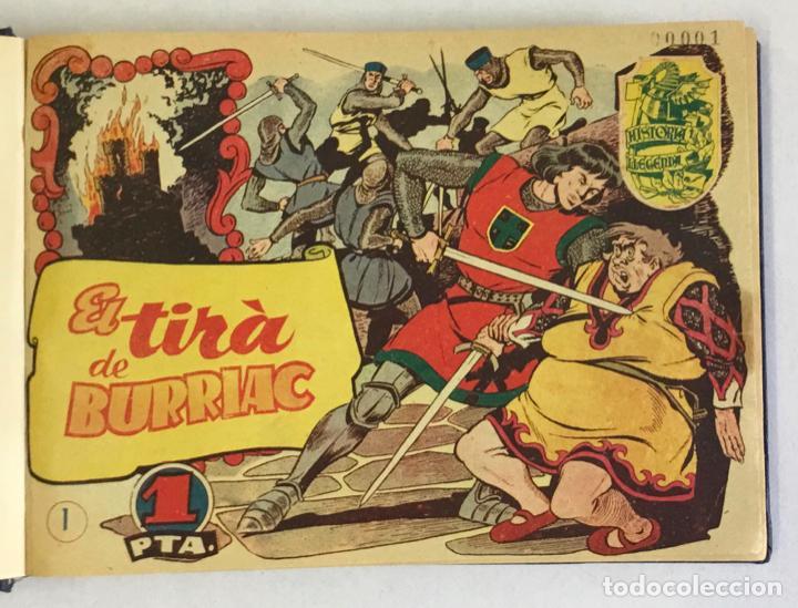 HISTORIA I LLEGENDA. COLECCIÓN COMPLETA DE 28 NÚMEROS. (Tebeos y Comics - Hispano Americana - Otros)