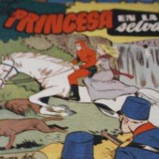 Livros de Banda Desenhada: TEBEO COMIC AVENTURA DEL HOMBRE ENMASCARADO Nº 11 LA PRINCESA EN LA SELVA ORIGINAL. Lote 207189540