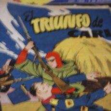 Tebeos: TEBEO COMIC AVENTURA DEL HOMBRE ENMASCARADO Nº 14 EL TRIUNFO DE CARL ORIGINAL. Lote 207190503