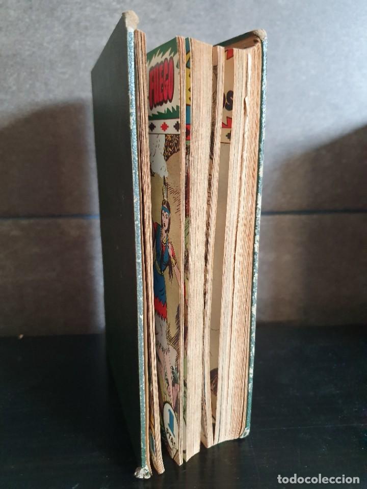 Tebeos: 1949 GACELA BLANCA -ORIGINAL- COMPLETA los 54 ejemplares - Foto 3 - 207229852