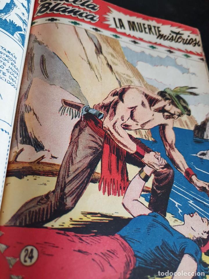 Tebeos: 1949 GACELA BLANCA -ORIGINAL- COMPLETA los 54 ejemplares - Foto 9 - 207229852