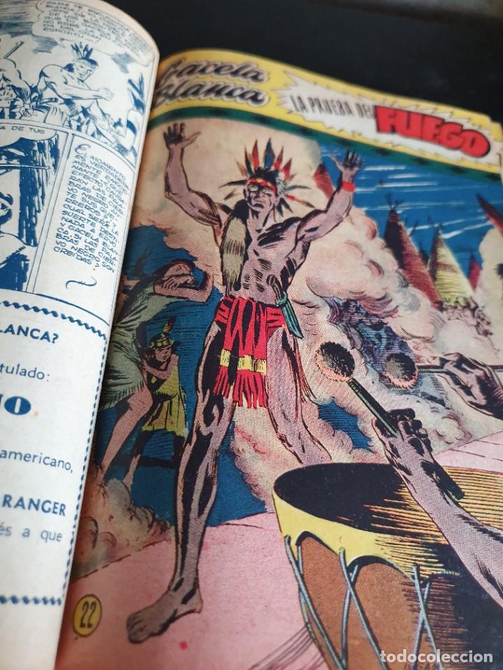 Tebeos: 1949 GACELA BLANCA -ORIGINAL- COMPLETA los 54 ejemplares - Foto 11 - 207229852