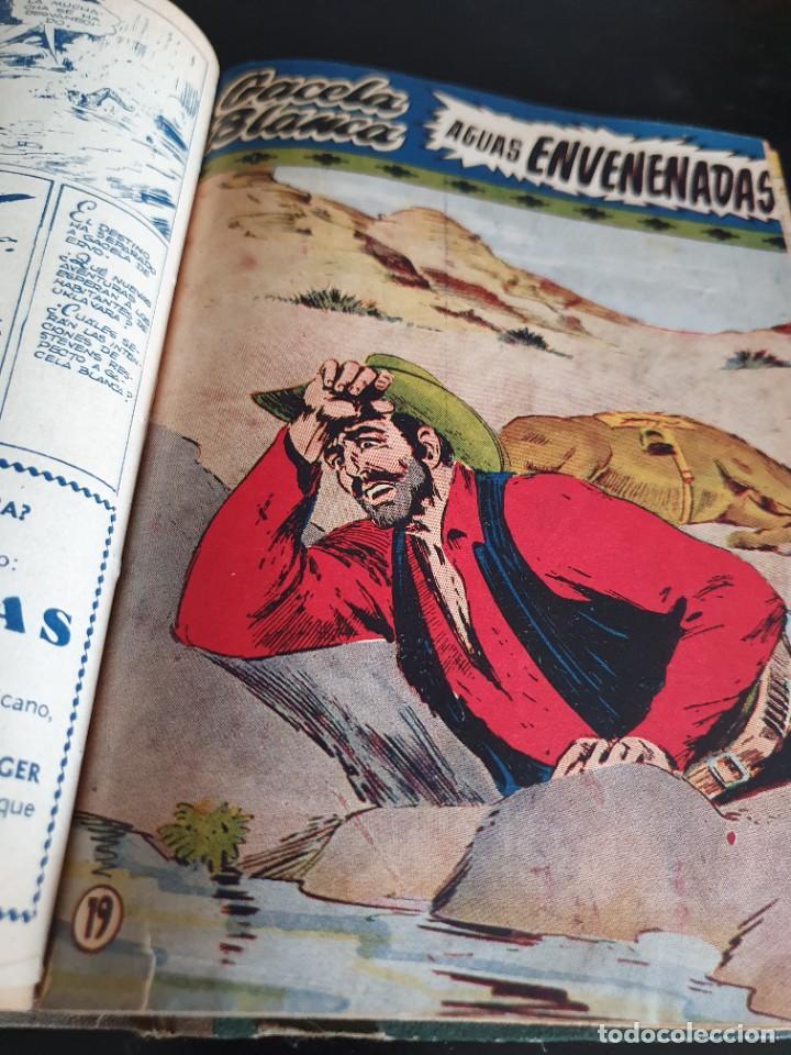 Tebeos: 1949 GACELA BLANCA -ORIGINAL- COMPLETA los 54 ejemplares - Foto 14 - 207229852