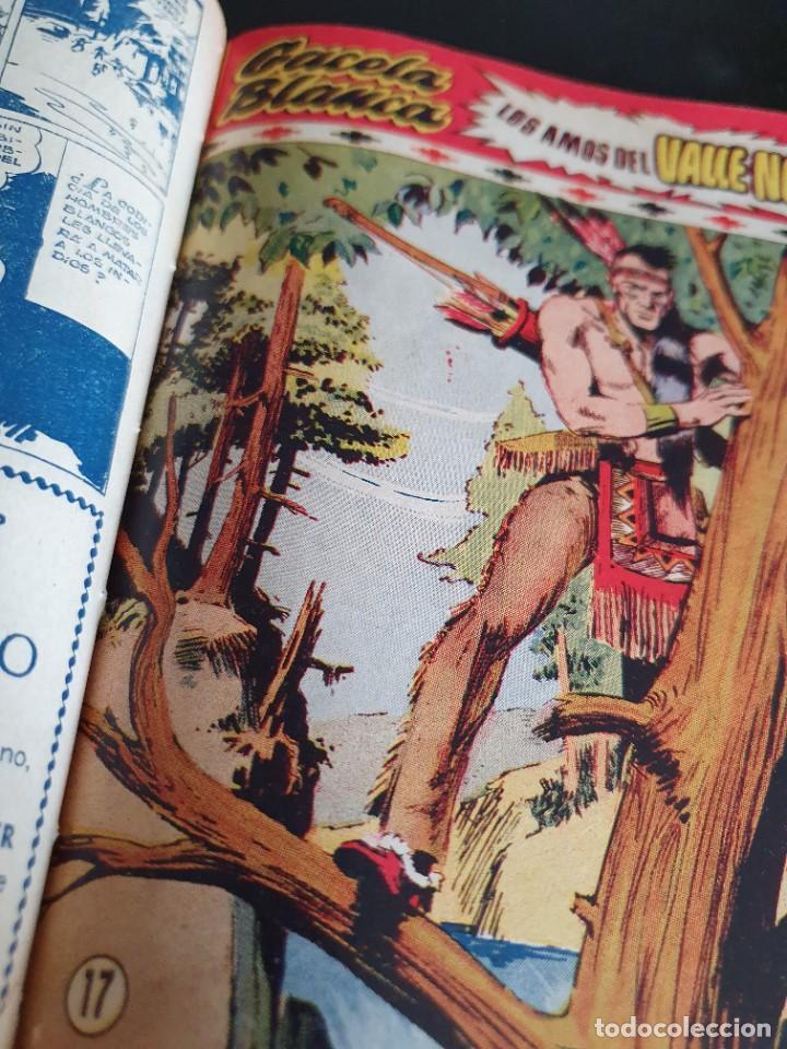 Tebeos: 1949 GACELA BLANCA -ORIGINAL- COMPLETA los 54 ejemplares - Foto 16 - 207229852