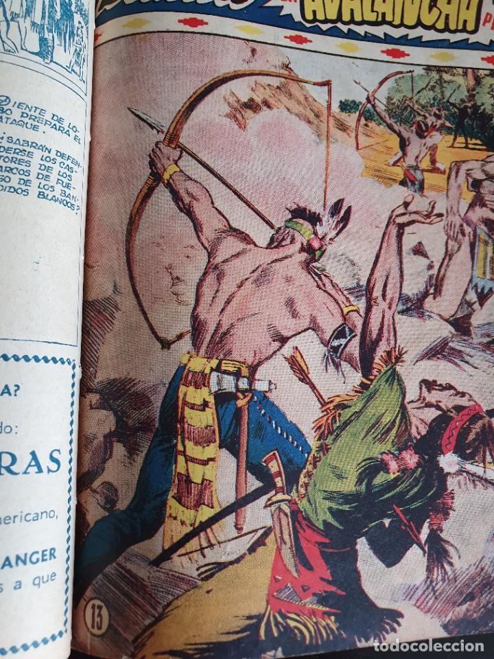 Tebeos: 1949 GACELA BLANCA -ORIGINAL- COMPLETA los 54 ejemplares - Foto 20 - 207229852