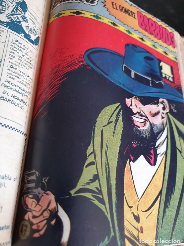 Tebeos: 1949 GACELA BLANCA -ORIGINAL- COMPLETA los 54 ejemplares - Foto 42 - 207229852